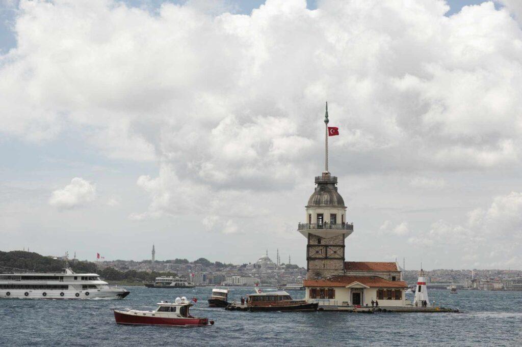 istanbul Şehri Kız Kulesi