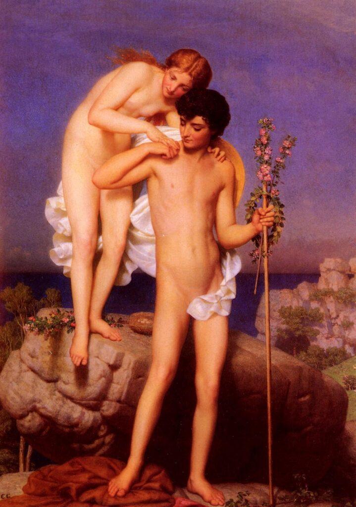 Daphnis mit der Feentochter Lyca