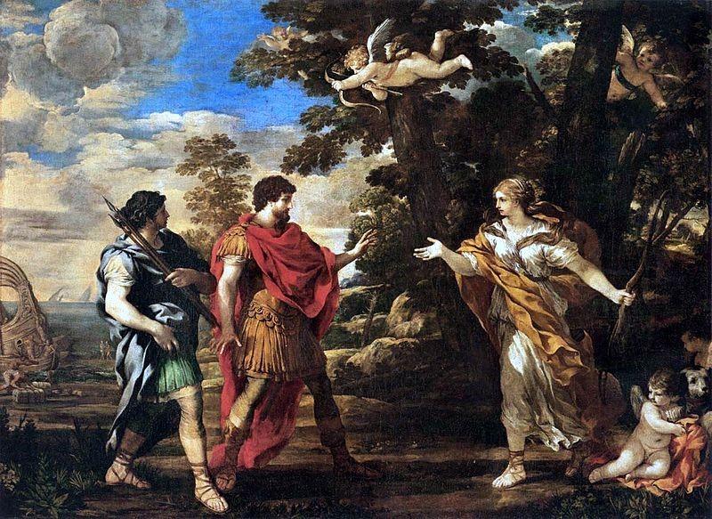 Die Göttin Aphrodite und der wilde Eros